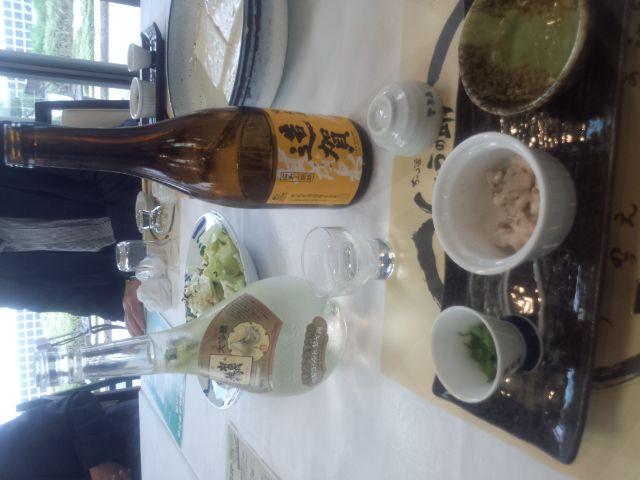 乾杯は、日本酒で!
